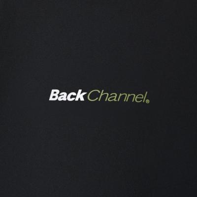 バックチャンネル ワイド ストレッチ ライト ロング スリーブ T