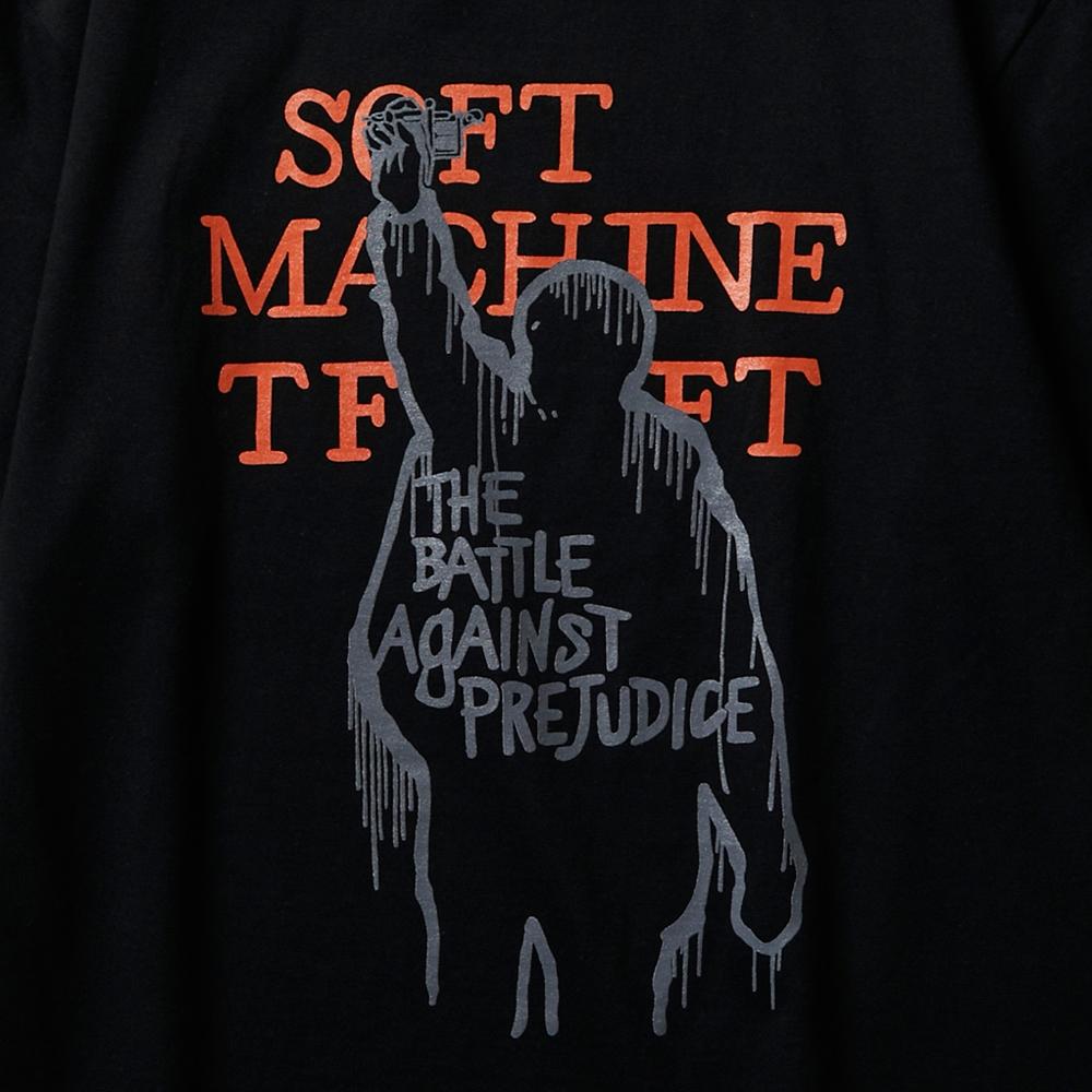 ソフトマシーン アゲインスト tシャツ