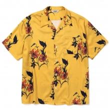 キャリー オールオーバー  フラワー パターン シャツ
