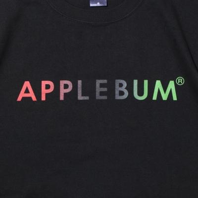 アップルバム  グラデーション ロゴ Tシャツ