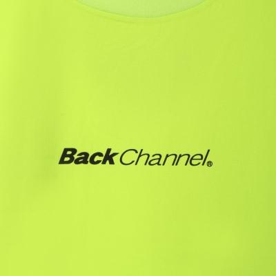 バックチャンネル ワイド ストレッチ ライトT