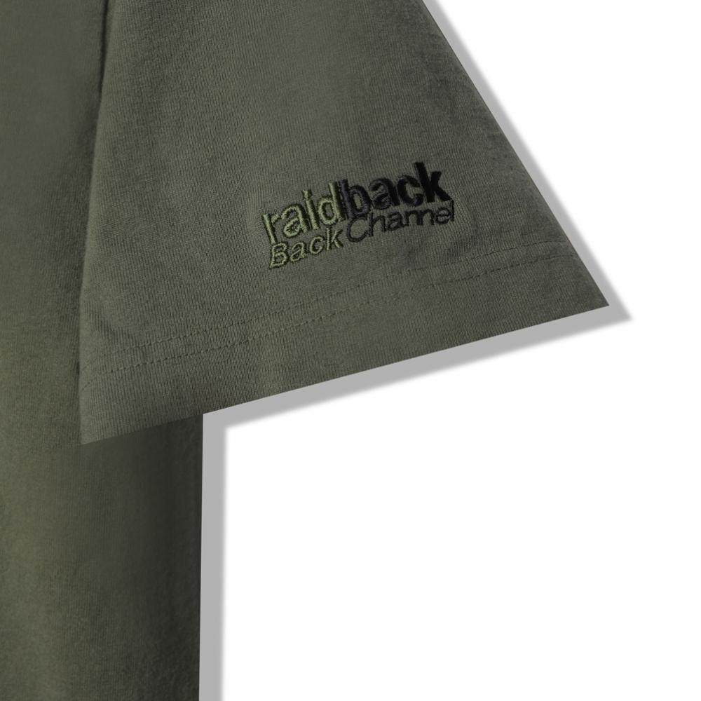 バックチャンネル ×raidback fabric POCKET T
