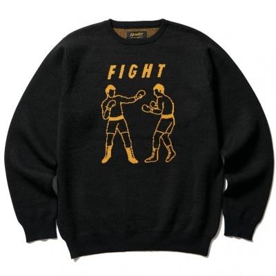 ソフトマシーン ファイト クルー ネック セーター