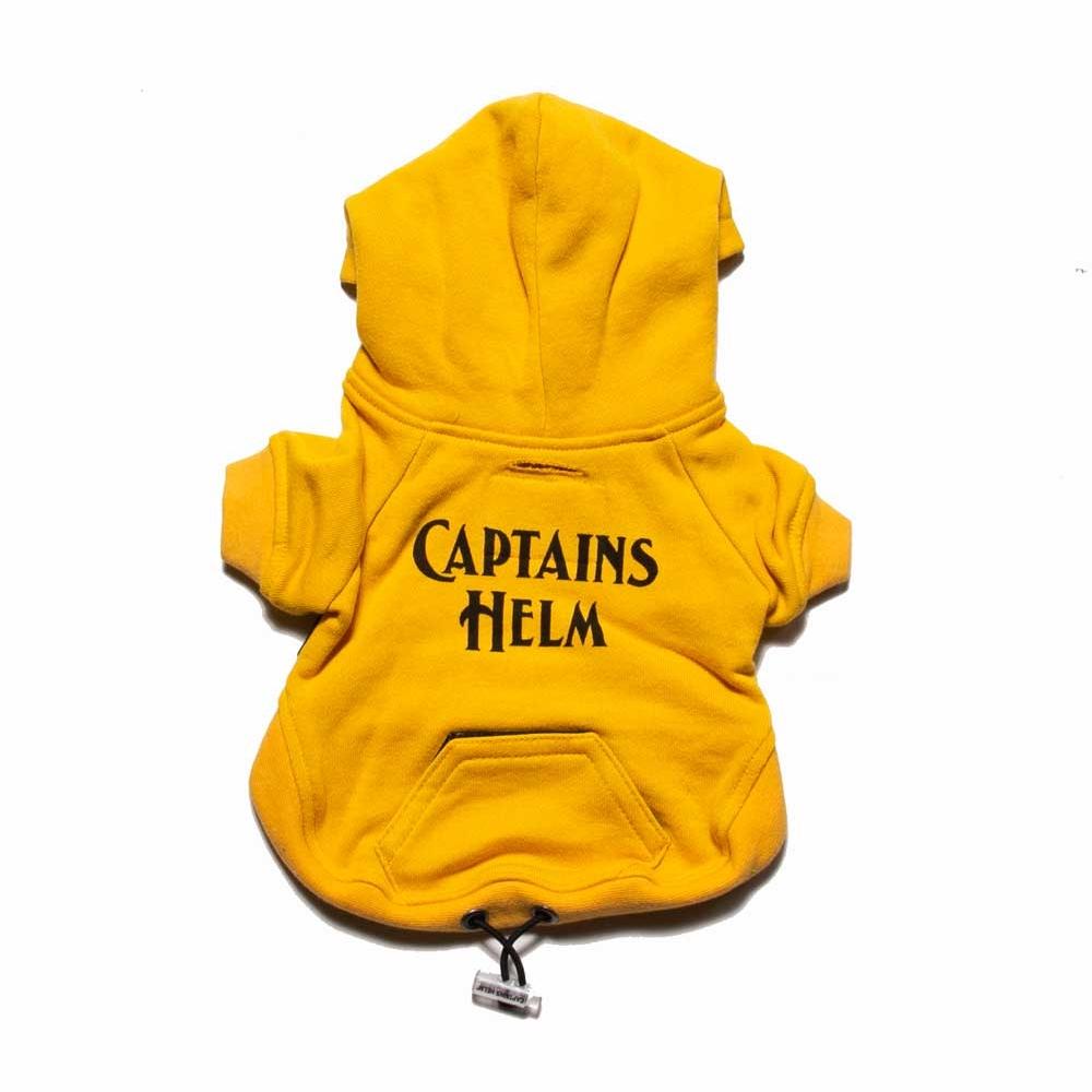 キャプテンズヘルム ドッグ ロゴ フーディー