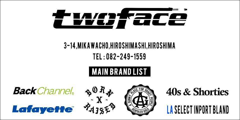 TWOFACE | トゥーフェース